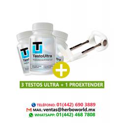 3 Testo Ultra + 1Proextender